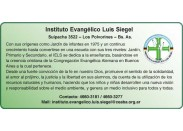 Instituto Evangélico Luis Siegel